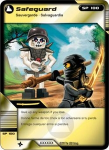 LEGO Ninjago Single Card 73/81 Safeguard
