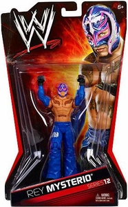 Mattel WWE Wrestling Basic Series 12 Action Figure Rey Mysterio