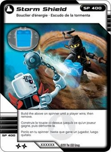 LEGO Ninjago Single Card 76/81 Storm Shield