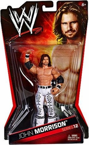 Mattel WWE Wrestling Basic Series 12 Action Figure John Morrison
