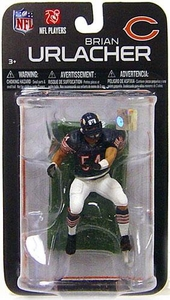 McFarlane Toys NFL 3 Inch Sports Picks Series 7 Mini Action Figure Brian Urlacher (Chicago Bears)