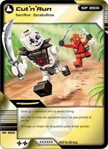LEGO Ninjago Single Card 78/81 Cut 'n' Run