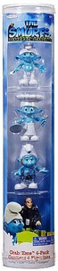 The Smurfs Movie Grab 'Ems Exclusive Mini Figure 4-Pack Clumsy, Chef, Gutsy & Gargamel