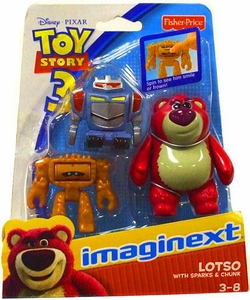 Imaginext Disney / Pixar Toy Story 3 Figure 3-Pack Lotso, Sparks & Chunk