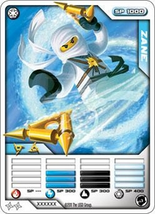 LEGO Ninjago Single Card 8/81 Zane