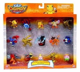 Digimon Data Squad Exclusive 1.5 Inch Mini PVC 15 Figure Collectible Set