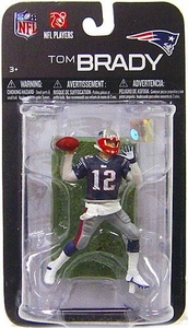 McFarlane Toys NFL 3 Inch Sports Picks Series 7 Mini Action Figure Tom Brady (New England Patriots)