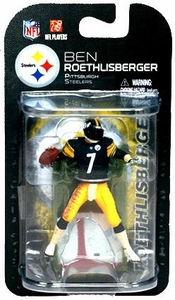 McFarlane Toys NFL 3 Inch Sports Picks Series 6 Mini Action Figure Ben Roethlisberger (Pittsburgh Steelers)