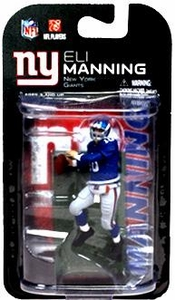 McFarlane Toys NFL 3 Inch Sports Picks Series 6 Mini Action Figure Eli Manning (New York Giants)