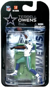 McFarlane Toys NFL 3 Inch Sports Picks Series 6 Mini Action Figure Terrell Owens (Dallas Cowboys)