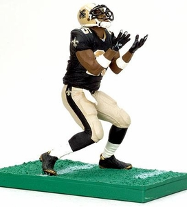 McFarlane Toys NFL 3 Inch Sports Picks Series 5 Mini Action Figure Reggie Bush (New Orleans Saints)