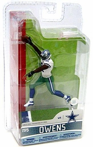 McFarlane Toys NFL 3 Inch Sports Picks Series 5 Mini Action Figure Terrell Owens (Dallas Cowboys)