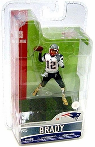 McFarlane Toys NFL 3 Inch Sports Picks Series 5 Mini Action Figure Tom Brady (New England Patriots)