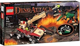 LEGO Dino Attack Set #7476 Iron Predator vs. T-Rex