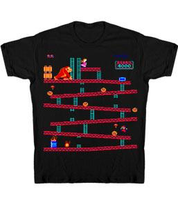 Nintendo Youth T-Shirt Donkey Kong Level 1
