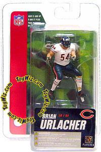 McFarlane Toys NFL 3 Inch Sports Picks Series 4 Mini Action Figure Brian Urlacher (Chicago Bears)