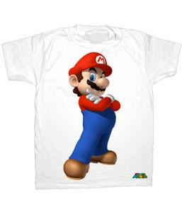 Nintendo Youth T-Shirt Heroic Super Mario