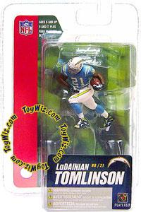 McFarlane Toys NFL 3 Inch Sports Picks Series 4 Mini Action Figure LaDainian Tomlinson (San Diego Chargers)
