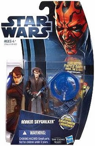 Star Wars 2012 Clone Wars Action Figure #01 Anakin Skywalker [Firing Lightsaber Launcher!] BLOWOUT SALE!
