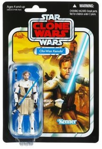 Star Wars 2012 Vintage Collection Action Figure #103 Obi-Wan Kenobi [Clone Wars]