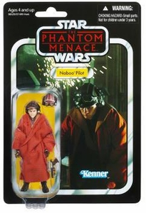 Star Wars 2012 Vintage Collection Action Figure #72 Naboo Pilot [Phantom Menace]