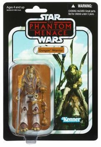 Star Wars 2012 Vintage Collection Action Figure #74 Gungan Warrior [Phantom Menace]