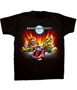Nintendo Youth T-Shirt Mario Kart Group
