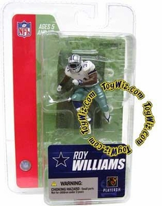 McFarlane Toys NFL 3 Inch Sports Picks Series 3 Mini Action Figure Roy Williams (Dallas Cowboys)