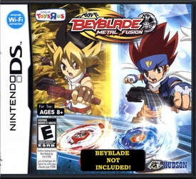 Beyblades Nintendo DS Video Game Beyblade Metal Fusion [TRU Version] Beyblade NOT Included!