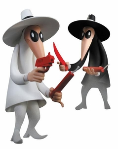 Mad Magazine Vinyl Action Figure 2-Pack Spy Vs. Spy