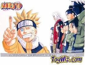 Naruto Japanese Limited Edition Postcard