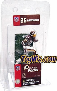 McFarlane Toys NFL 3 Inch Sports Picks Mini Action Figure Clinton Portis (Washington Redskins)