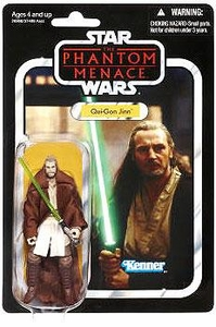 Star Wars 2012 Vintage Collection Action Figure #75 Qui-Gon [Final Battle] BLOWOUT SALE!