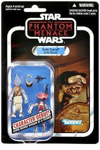 Star Wars 2012 Vintage Collection Action Figure #77 Ratts Tyerell & Pit Droid