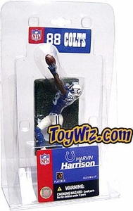 McFarlane Toys NFL 3 Inch Sports Picks Mini Action Figure Marvin Harrison (Indianapolis Colts)
