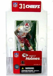 McFarlane Toys NFL 3 Inch Sports Picks Mini Action Figure Priest Holmes (Kansas City Chiefs)