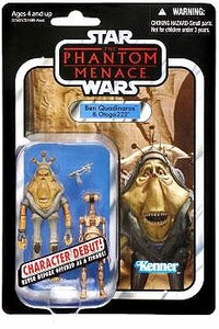 Star Wars 2012 Vintage Collection Action Figure #81 Ben Quadinaros & Pit Droid