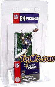 McFarlane Toys NFL 3 Inch Sports Picks Mini Action Figure Randy Moss (Minnesota Vikings)