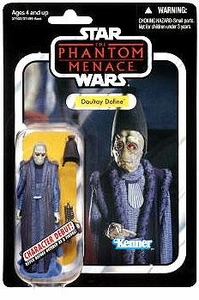 Star Wars 2012 Vintage Collection Action Figure #82 Daultay Dofine