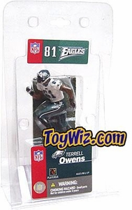 McFarlane Toys NFL 3 Inch Sports Picks Mini Action Figure Terrell Owens (Philadelphia Eagles)