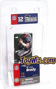 McFarlane Toys NFL 3 Inch Sports Picks Mini Action Figure Tom Brady (New England Patriots)