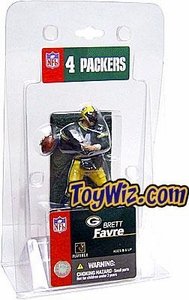 McFarlane Toys NFL 3 Inch Sports Picks Mini Action Figure Brett Favre (Green Jersey)