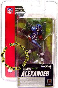 McFarlane Toys NFL 3 Inch Sports Picks Series 4 Mini Action Figure Shaun Alexander (Seattle Seahawks)