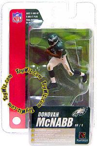 McFarlane Toys NFL 3 Inch Sports Picks Series 4 Mini Action Figure Donovan McNabb (Philadelphia Eagles)