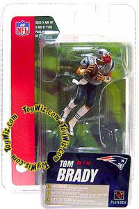 McFarlane Toys NFL 3 Inch Sports Picks Series 4 Mini Action Figure Tom Brady (New England Patriots)
