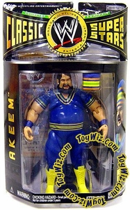 WWE Jakks Pacific Wrestling Classic Superstars Series 9 Action Figure Akeem