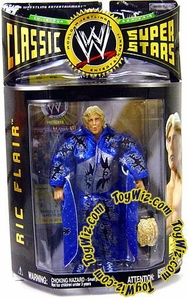 WWE Jakks Pacific Wrestling Classic Superstars Series 9 Action Figure Ric Flair [One Rhinestone Version]