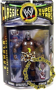 WWE Jakks Pacific Wrestling Classic Superstars Series 9 Action Figure Kamala  DAMAGED PACKAGE!
