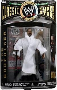 WWE Jakks Pacific Wrestling Classic Superstars Series 9 Action Figure The Godfather