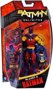DC Unlimited 6 Inch Series 2 Action Figure Planet-X Batman with Batmite